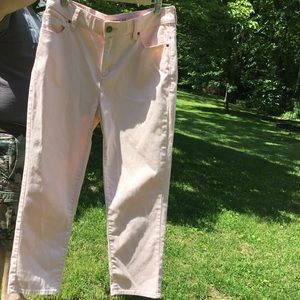 Chico's Jeans - 🌞🆒Chico's Pale Pink Crop Jeans